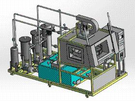 清洗机油泵 SPWB1021 通用格式 3D图纸 三维模型