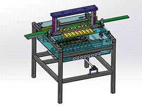 自动清洗机模型 SPWB2001 solidworks格式 3D图纸 三维模型