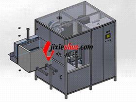 增压器中间体清洗机 SPWB2005 solidworks格式 3D图纸 三维模型