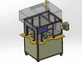 二氧化碳清洗与测试设备 SPWB2011 solidworks格式 3D图纸 三维模型