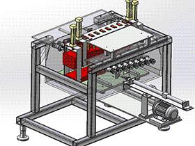 非标清洗机 SPWB2012 solidworks格式 3D图纸 三维模型
