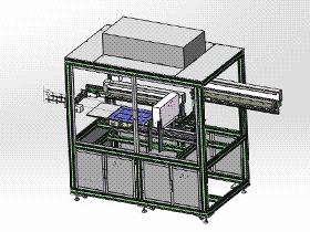 非标设备凹光栅超声波清洗机 SPWB2014 solidworks格式 3D图纸 三维模型