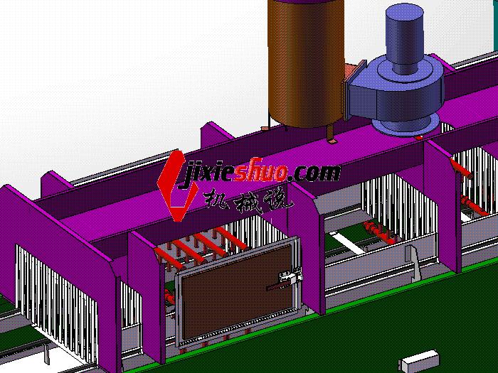压铸件清洗机 SPWB2015 solidworks格式 3D图纸 三维模型
