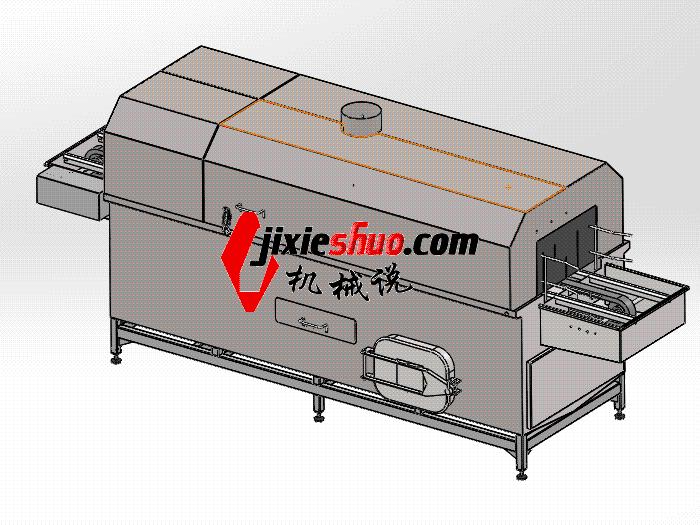 压铸件清洗机 SPWB2016 solidworks格式 3D图纸 三维模型