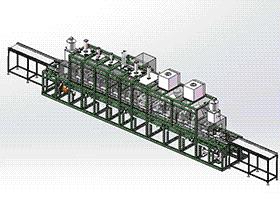 汽车缸体缸盖步进式清洗机 SPWB2017 solidworks格式 3D图纸 三维模型