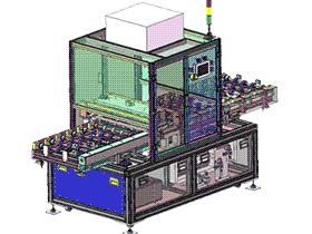 电浆清洗机 SPWE1003 solidworks  3D图纸 三维模型