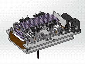 IPA清洗机 SPWE1008 solidworks 3D图纸 三维模型