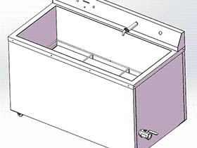 超声波清洗机 spwf1002 solidworks 3D图纸 三维模型