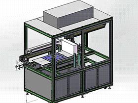 凹光栅超声波清洗机 spwf2002 solidworks 3D图纸 三维模型