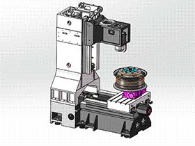 立加VMC850 TMCA1003 solidworks  3D图纸 三维模型