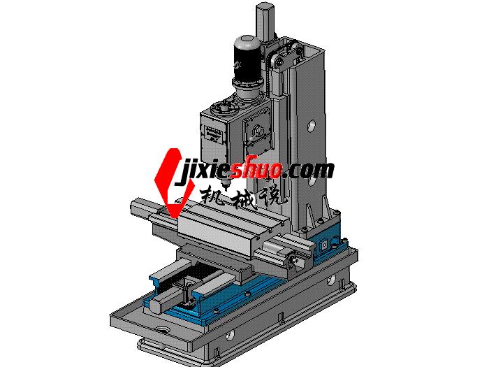 铣床X7132铣钻床 TMCC5001 solidworks格式 3D图纸 三维模型
