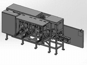 多工位打磨机轴承抛光机 TMHA1001 solidworks  3D图纸 三维模型