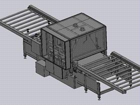 拉丝抛光机 TMHA1002 solidworks  3D图纸 三维模型
