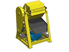 五金制品抛光机除批峰机 TMHA1003 solidworks  3D图纸 三维模型