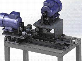 自动去毛刺机 TMHA1004 solidworks  3D图纸 三维模型