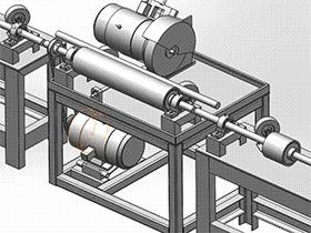 圆管抛光机 TMHA1007 solidworks  3D图纸 三维模型