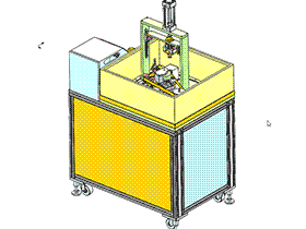 圆柱形产品抛光机 TMHA1008 solidworks  3D图纸 三维模型