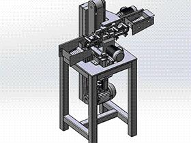 自动砂光机 tmhb1003 通用格式 3D图纸 三维模型