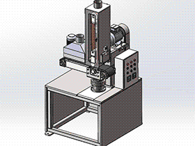 平磨机 tmhb2002 solidworks 3D图纸 三维模型