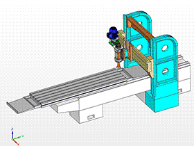 平面磨床 THMC1003 solidworks  3D图纸 三维模型