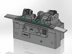 万能外圆磨床TMHD2001 solidworks  3D图纸 三维模型