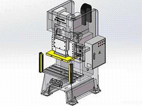 冲压机 tmjb1002 solidworks 3D图纸 三维模型