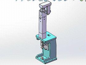 伺服压力机 tmjb1005 solidworks 3D图纸 三维模型