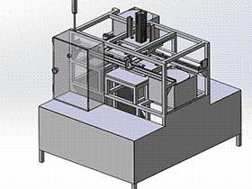 压床 tmjb1006 solidworks 3D图纸 三维模型