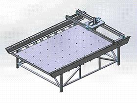 雕刻机 TMKE1004 solidworks 3D图纸 三维模型