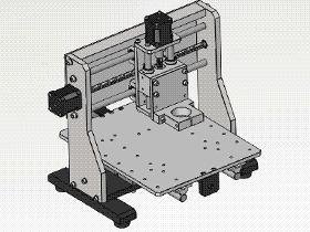 CNC雕刻机 TMKE2007 Solidworks格式 3D图纸 三维模型