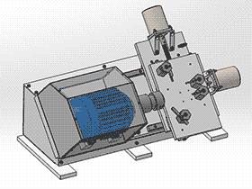 DIY数控小型微型车床CNC桌面车床 TMLK1003 通用格式 3D图纸 三维模型