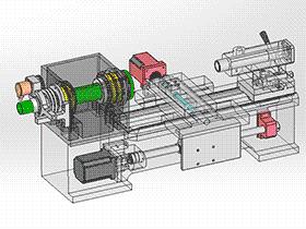数控车床 带工程图 TMLK2002 Solidworks格式 3D图纸 三维模型