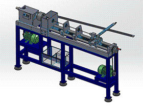 tmlp1004_自改装车床 solidworks 3D图纸 三维模型