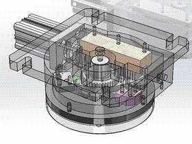 气动分度盘 TMNB1002 Solidworks格式 3D图纸 三维模型