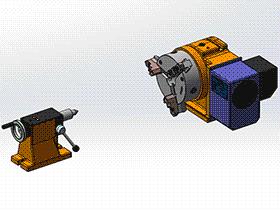 机床回转卡盘装置 TMNB1003 Solidworks格式 3D图纸 三维模型