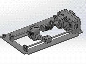 雕刻机mdx-20第四轴 TMNB1004 Solidworks格式 3D图纸 三维模型