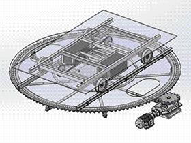 旋转机构 TMNB1008 Solidworks格式 3D图纸 三维模型