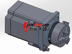 直驱转台 方案图 TMNB1012 Solidworks格式 3D图纸 三维模型