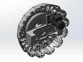 攻牙机夹臂式刀库 tmnc1003 通用格式 3D图纸 三维模型