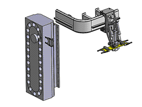 CNC雕刻数控机床换刀机械手机构 tmnc2001 solidworks格式 3D图纸 三维模型