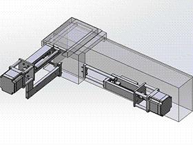 xy移动平台 tmnh1001 solidworks格式 3D图纸 三维模型