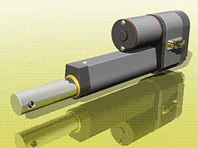 微型线性驱动器 tmnh1003 solidworks格式 3D图纸 三维模型
