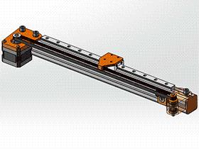 直线运动导轨 tmnh1005 solidworks格式 3D图纸 三维模型