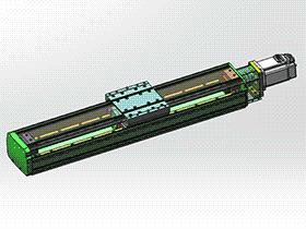 单轴机械手 tmnh2003 solidworks格式 3D图纸 三维模型