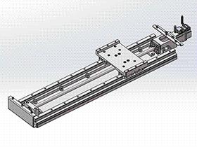 单轴机械手模组 tmnh2006 solidworks格式 3D图纸 三维模型