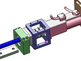 单轴机械手模组-丝杆传动 tmnh2007 solidworks格式 3D图纸 三维模型