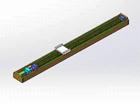 滚珠丝杠型机械手 tmnh2009 solidworks格式 3D图纸 三维模型