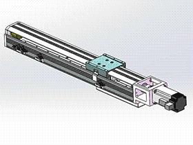 滚珠丝杆直线模组 tmnh2010 solidworks格式 3D图纸 三维模型