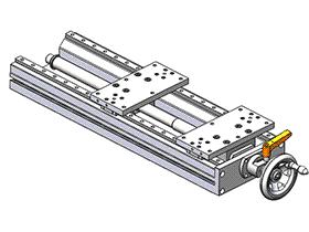 手动移动滑台 tmnh2012 solidworks格式 3D图纸 三维模型