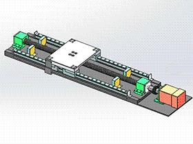 三坐标测量机Y轴 tmnh2014 solidworks格式 3D图纸 三维模型